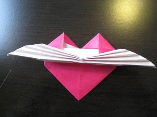 折り紙の 折り紙のハートの折り方 : howcollect.jp