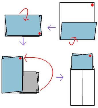 ハート 折り紙 手紙 三つ折り 方法 : howcollect.jp